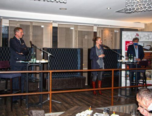 Mitgliedertreffen mit Polizeipräsidenten Torsten Schultze